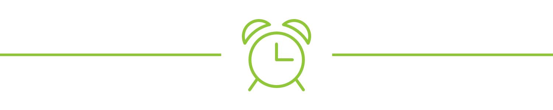 An alarm clock icon