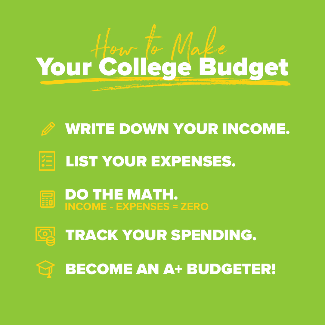 How to Make Your College Budget
