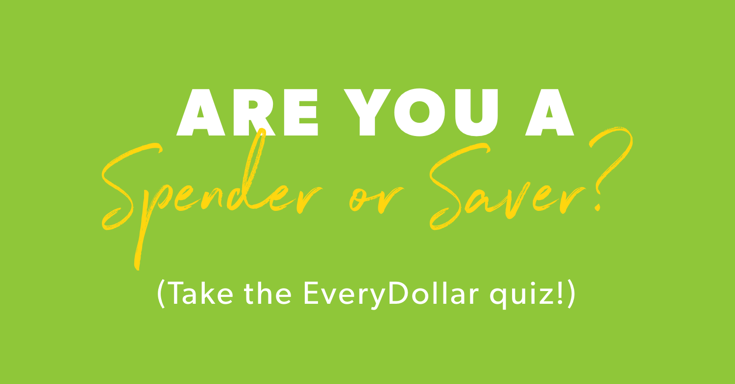 photograph about Money Personality Quiz Printable identified as Are Your self a Spender or Saver? Just take the EveryDollar Quiz!