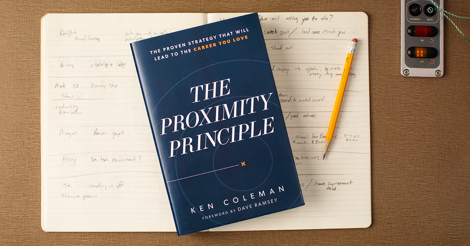 Ken Coleman's new book, The Proximity Principle