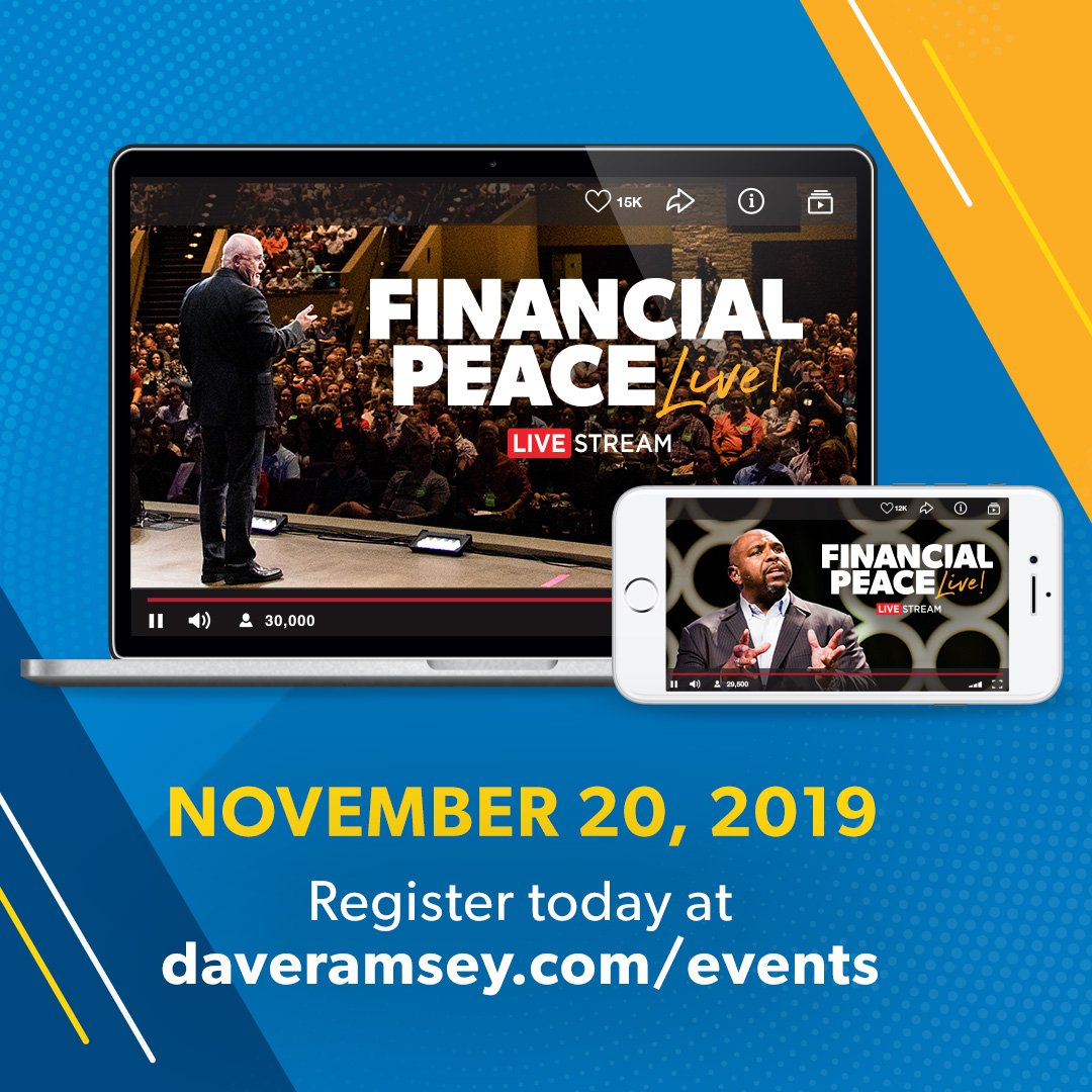 Dave Ramsey Live Events | Daveramsey com