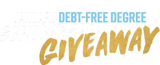 Debt-Free Degree Scholarship Giveaway