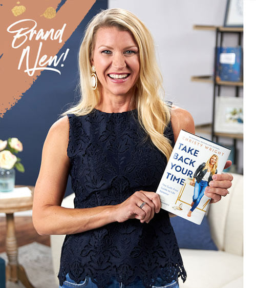 Brand New Book - Christy Wright with Take Back Your Time