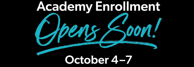 Enrollment Opens Soon