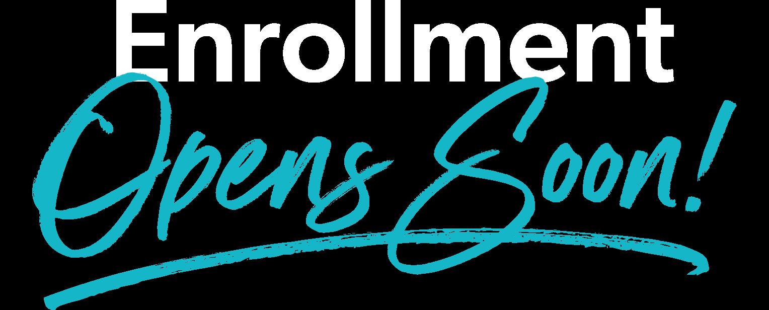 Academy Enrollment Opens Soon