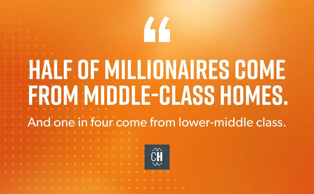 What is Keeping the Middle Class From Becoming Millionaires?
