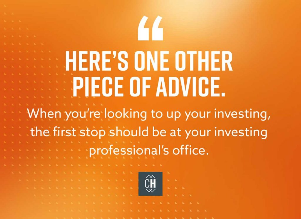 Investing 2.0: Where Do I Invest Beyond 15%?