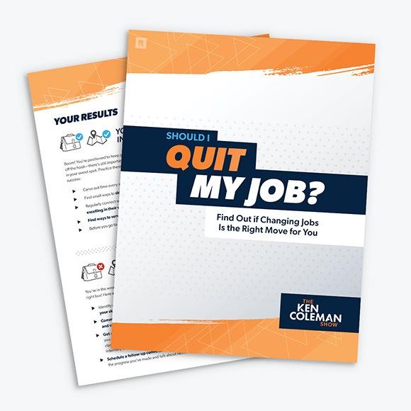 Should I Quit My Job Quiz