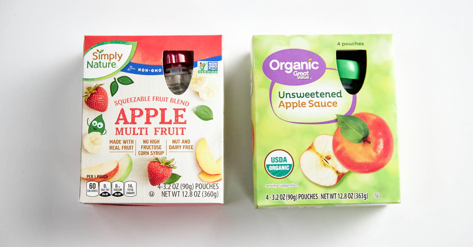 Aldi vs Walmart Applesauce