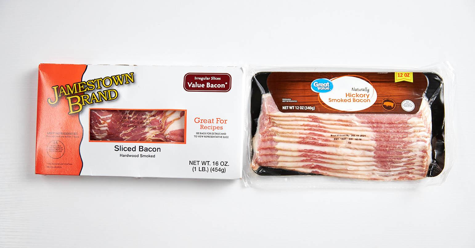 Aldo vs Walmart Bacon
