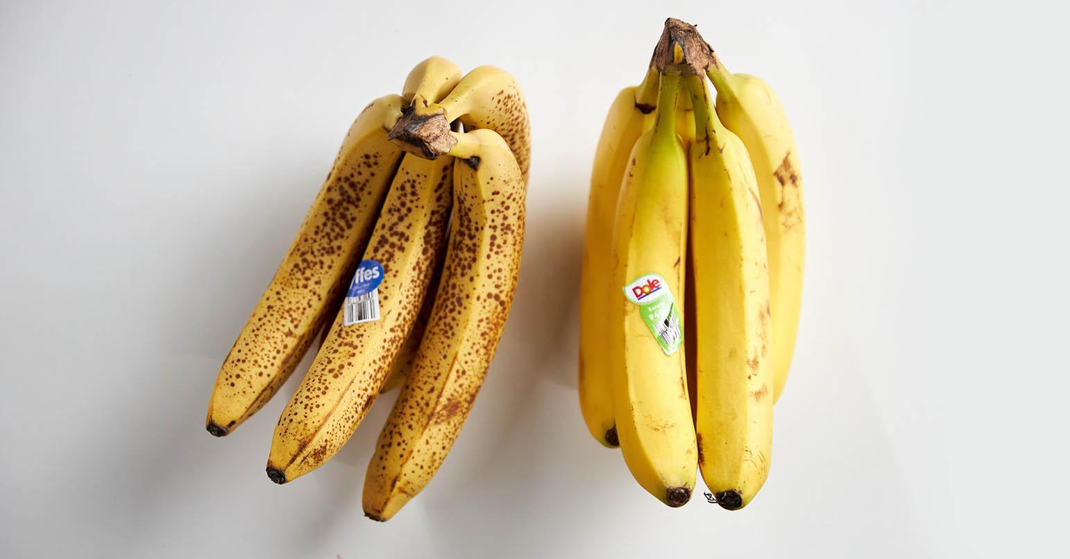 Aldi vs Walmart Bananas