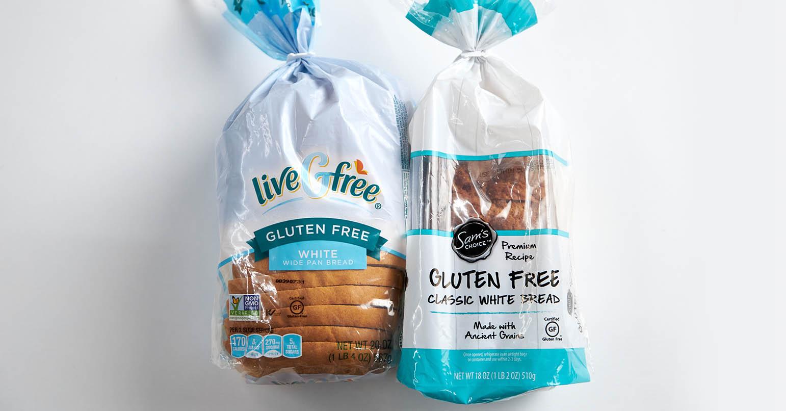 Aldi vs Walmart Gluten Free Bread