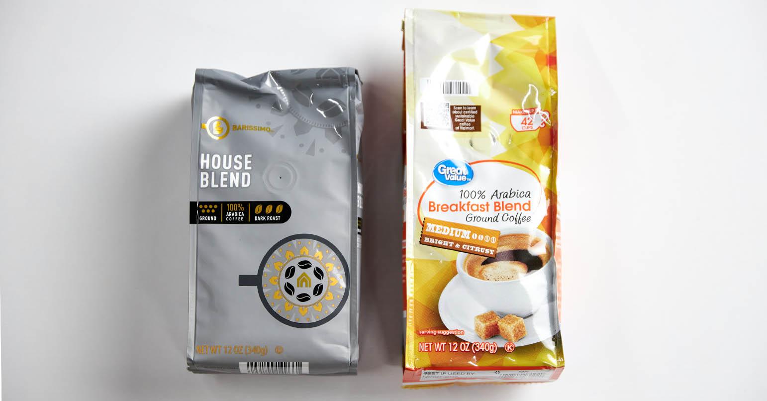 Aldi vs Walmart Coffee