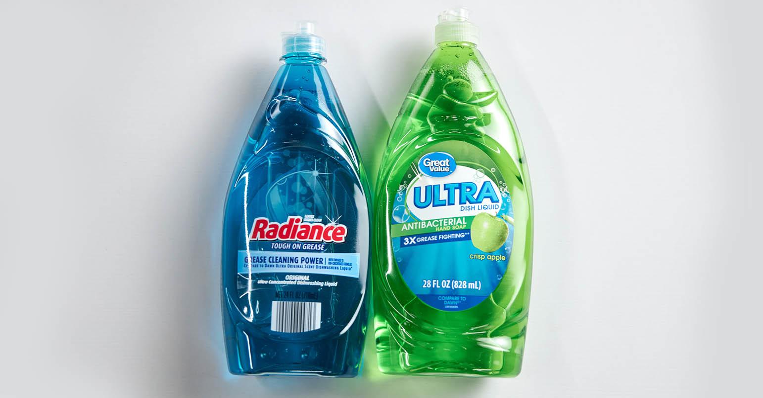 Aldi vs Walmart Dish Soap
