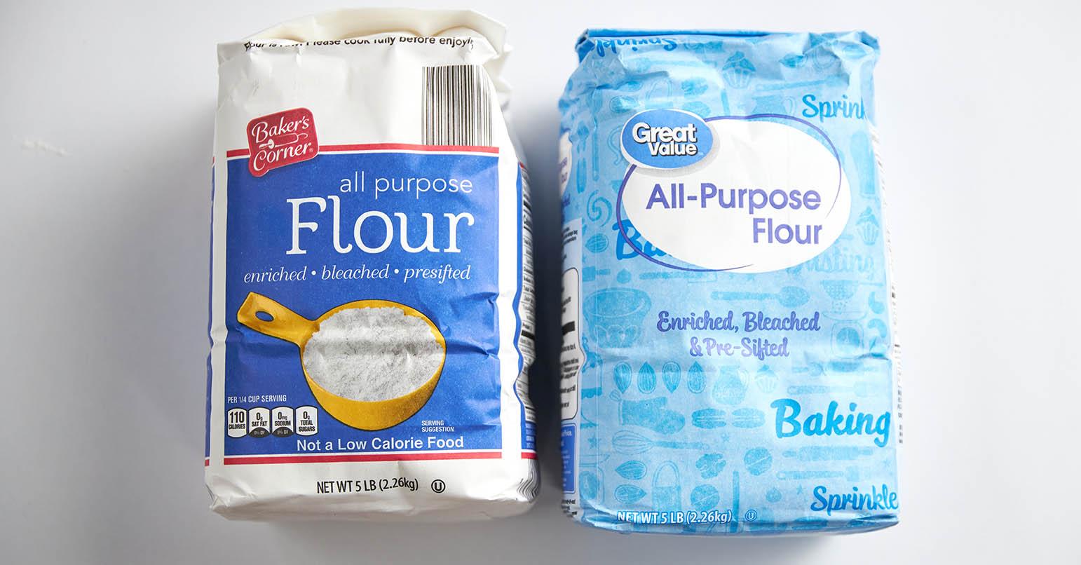 Aldi vs Walmart Flour