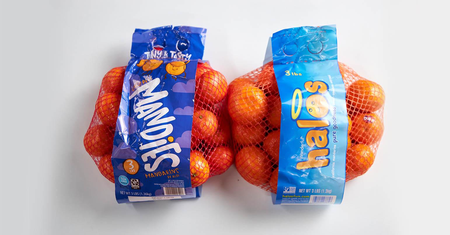 Aldi vs Walmart Oranges
