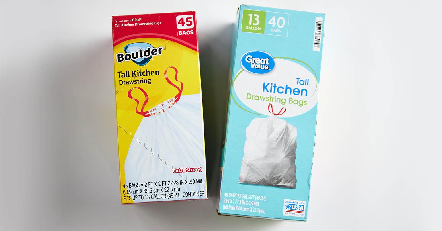 Aldi vs Walmart Trash Bags