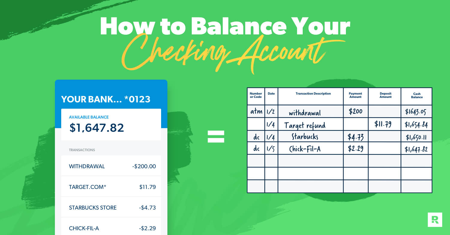 how to balance your checking account