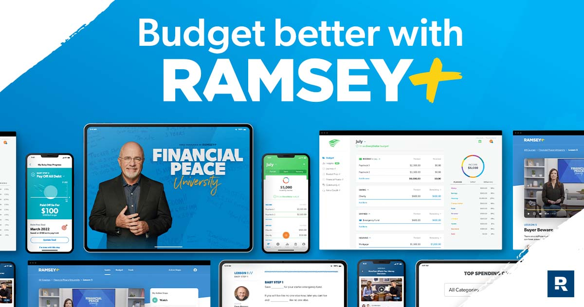 Budgeting with Ramsey Plus