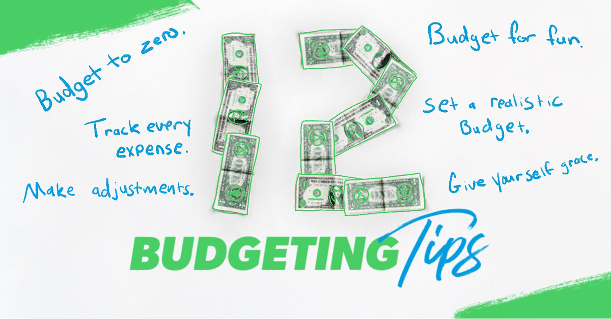 12 budgeting tips