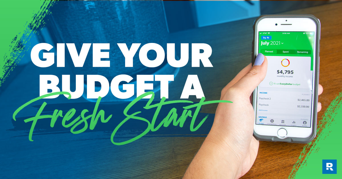 Does your budget need a fresh start?
