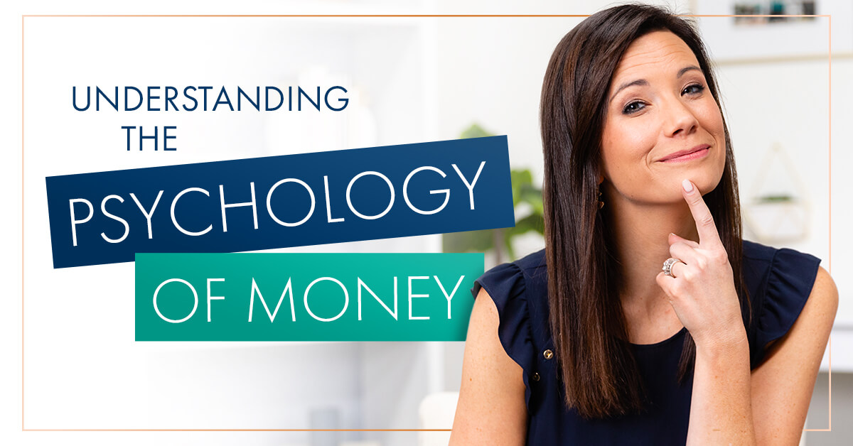 Rachel Cruze thinking about the psychology of money.