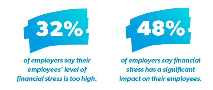 impact of financial stress of employees