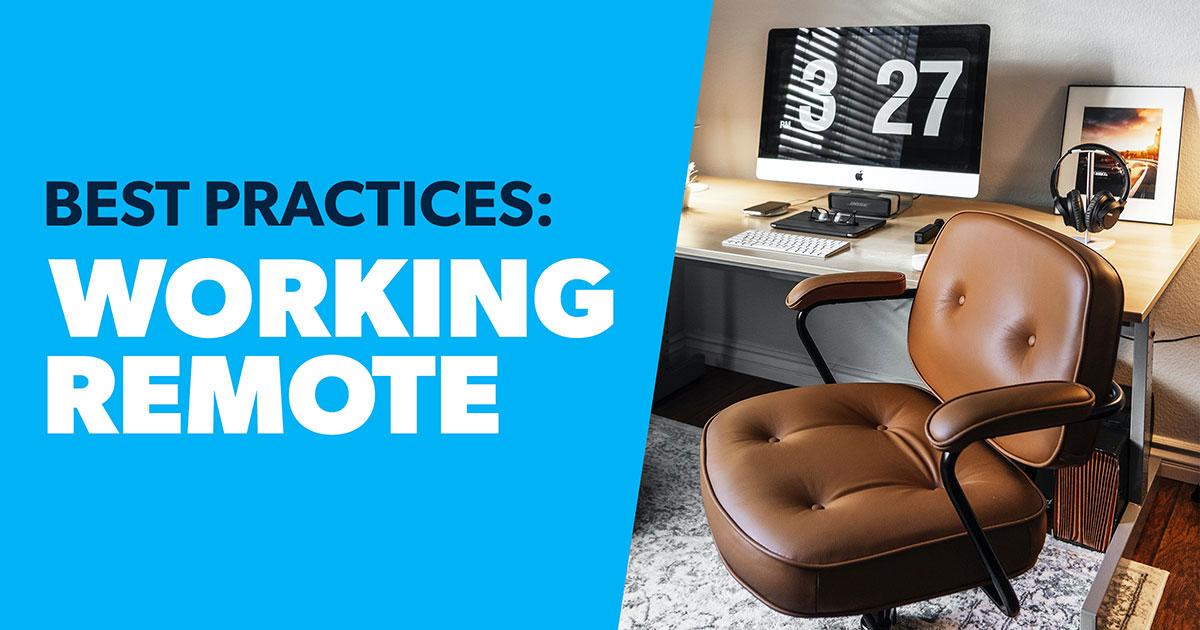 8 Tips for Working From Home