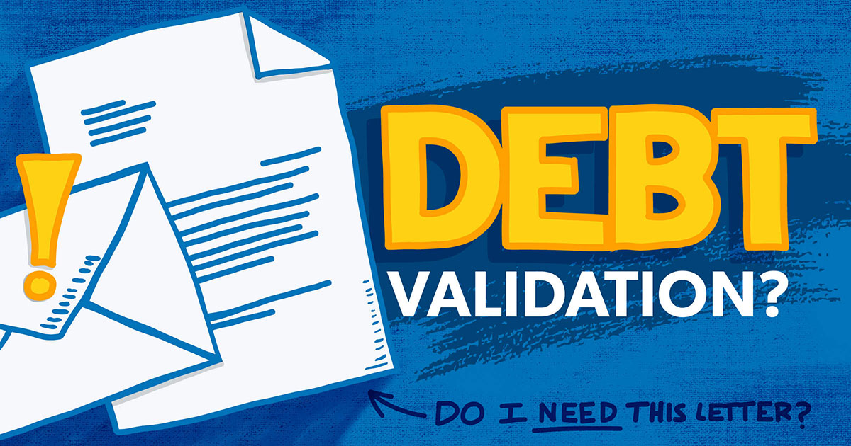 debt validation letter