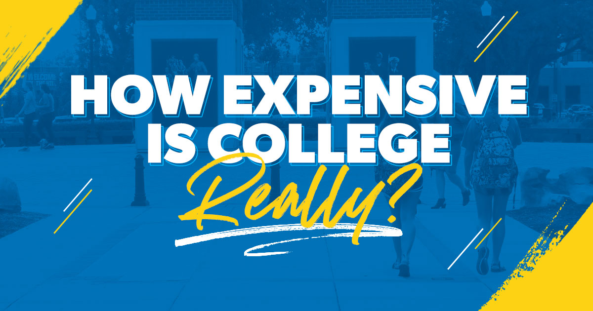 How expensive is college really?