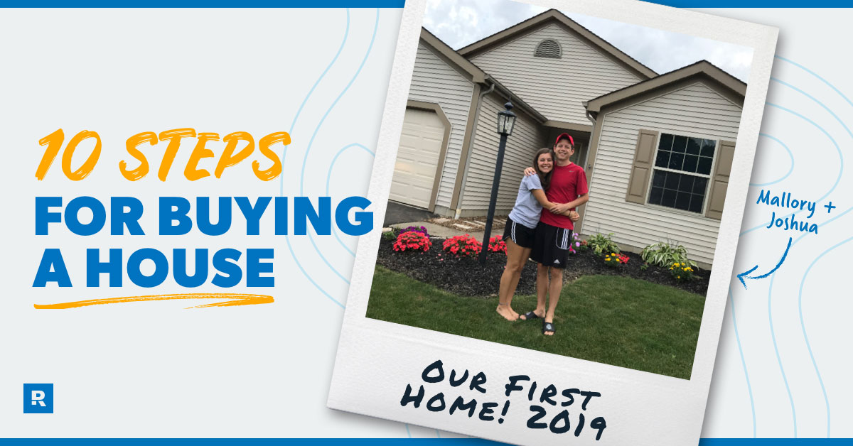 10 steps for buying a house