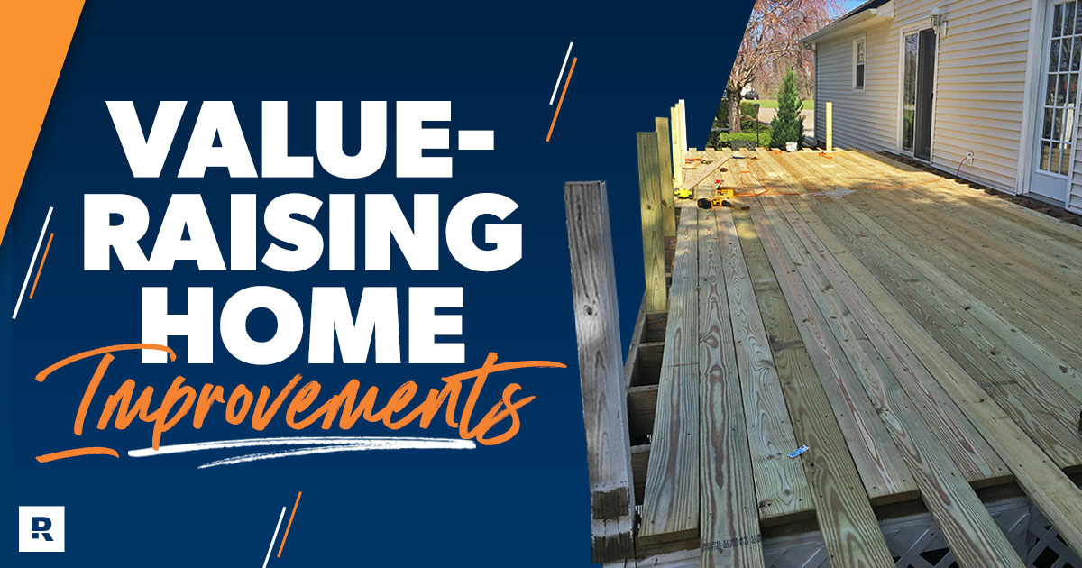 value-raising home improvements