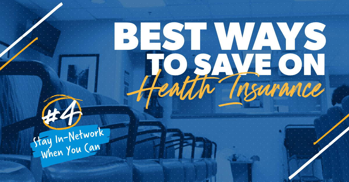 Best ways to save on health insurance.