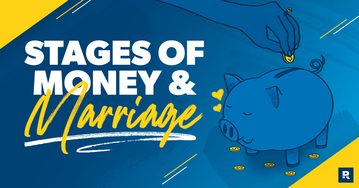 stages of money and marriage