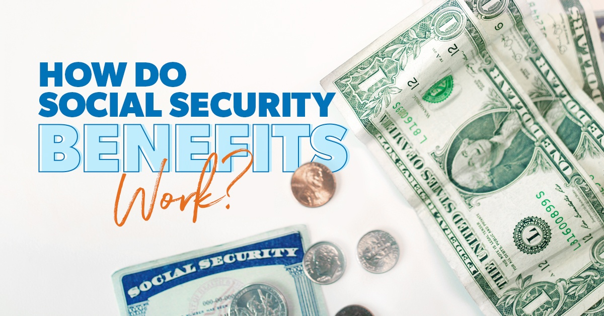 A Social Security card, dollar bills, and change sitting on a white table.