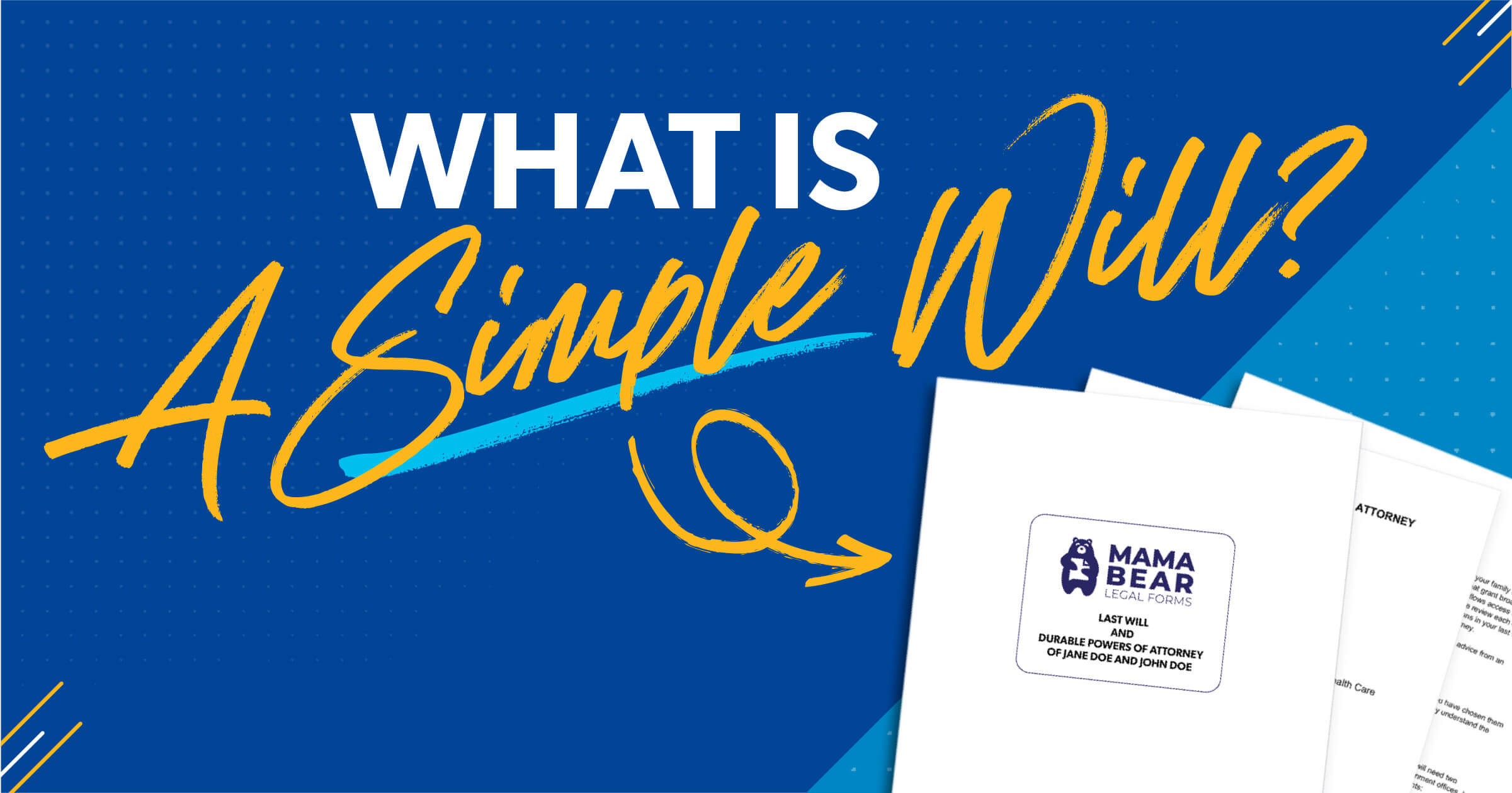 What Is a Simple Will?