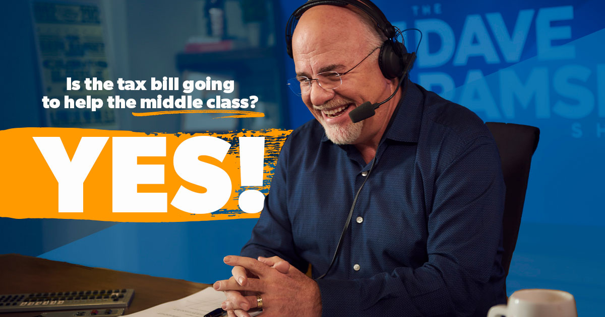 Dave Ramsey on air with a quote: