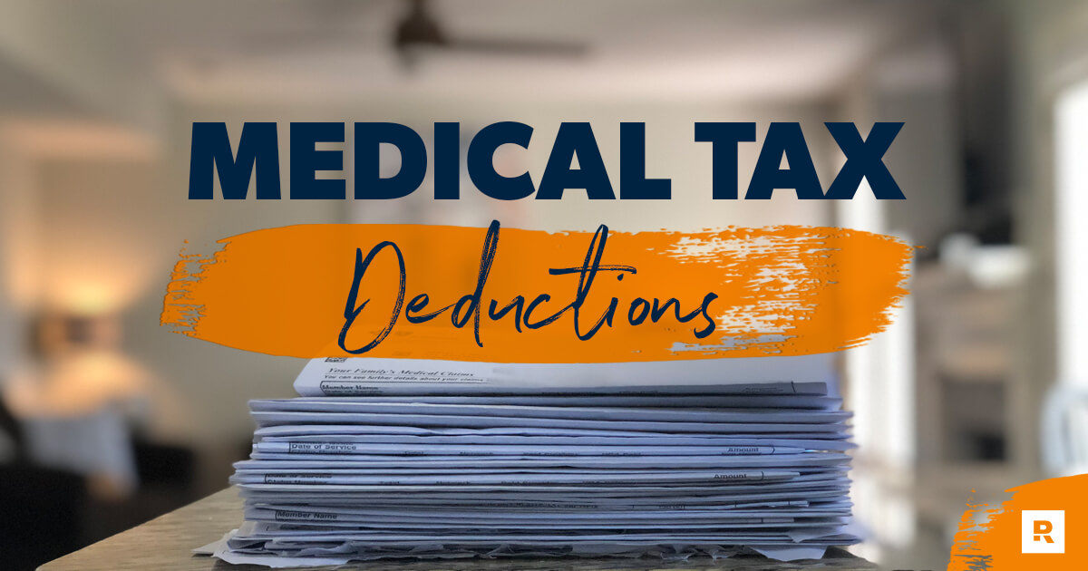 A stack of medical expenses.