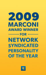 2009 Marconi award winner for network syndicated personality of the year