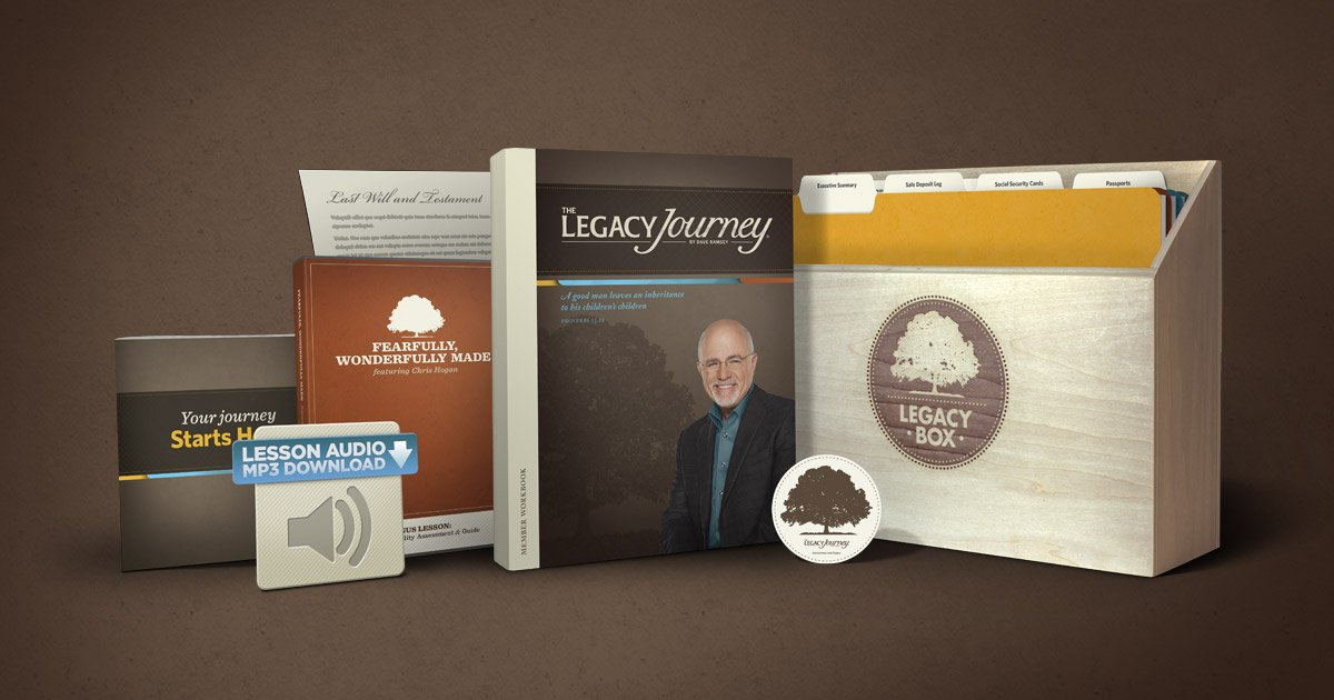 Love Your Family Well With The Legacy Box Daveramsey Com
