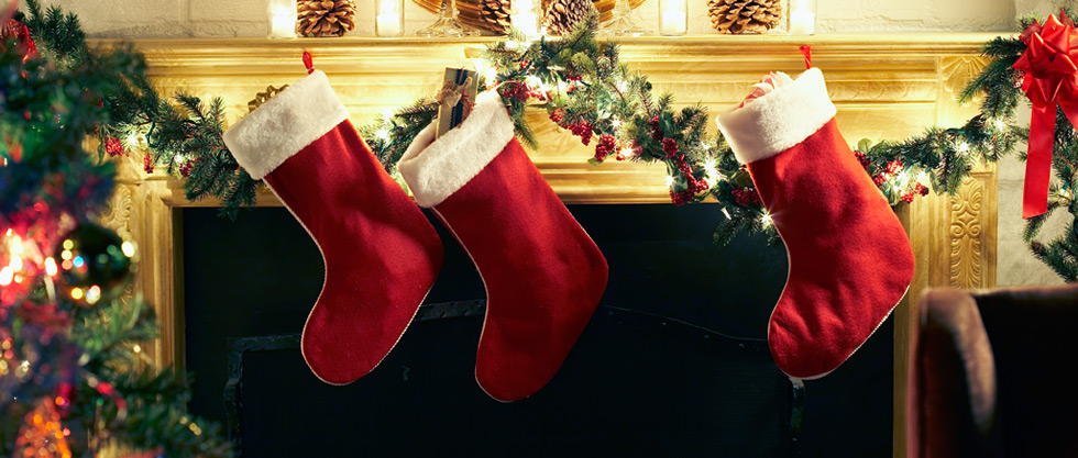 Stockings are classic way to wrap your gift beautifully.