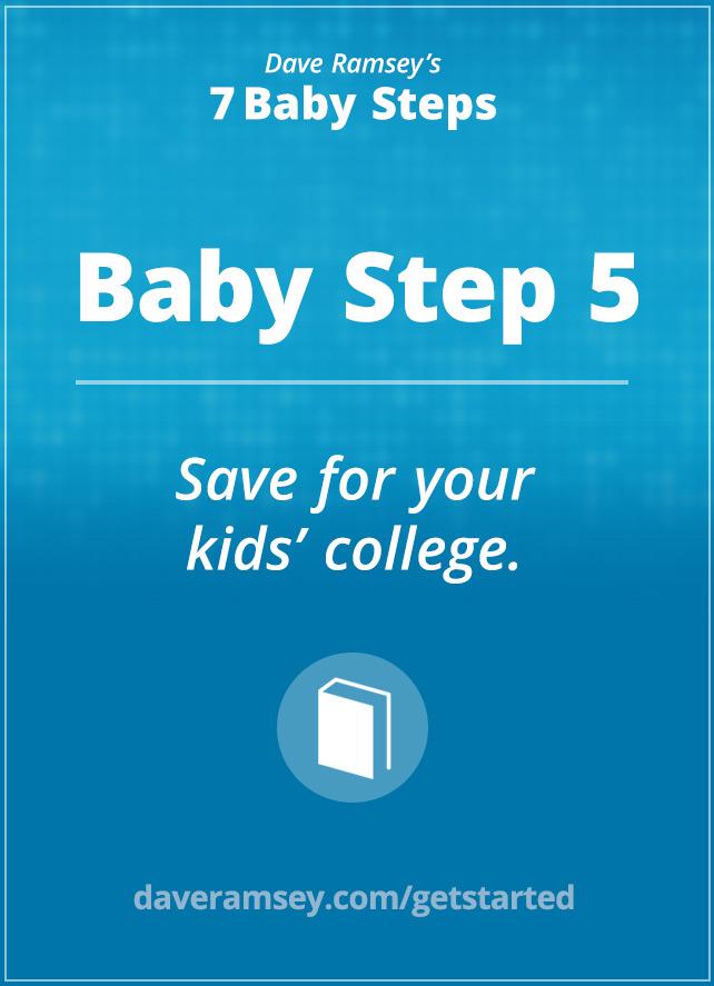 Baby Step 5 Daveramsey Com