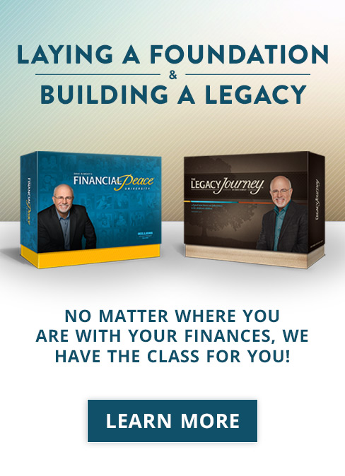 Financial Peace University and The Legacy Journey
