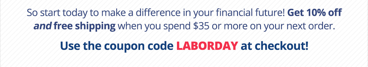 Use code LABORDAY at checkout!