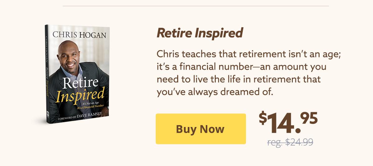 Retire Inspired $14.95 | Buy Now