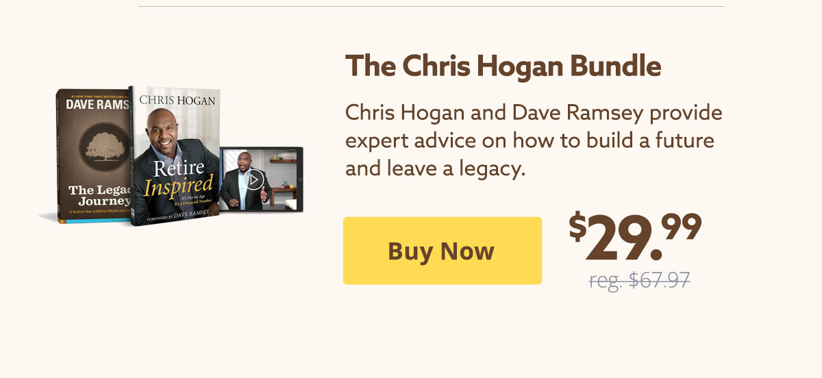 The Chris Hogan Bundle $29.99 | Buy Now