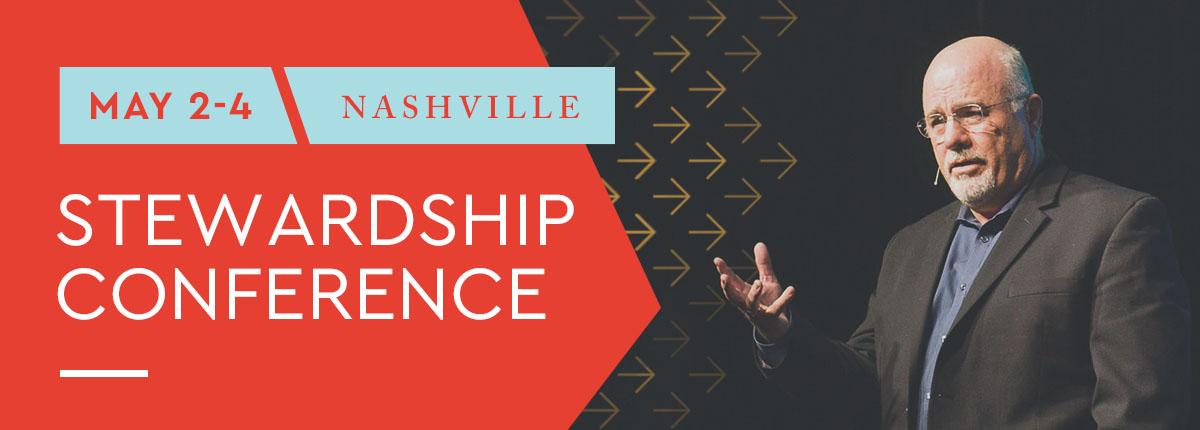 May 2-4   Nashville   Stewardship Conference