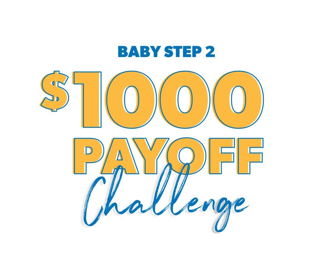 $1000 dollar payoff challenge