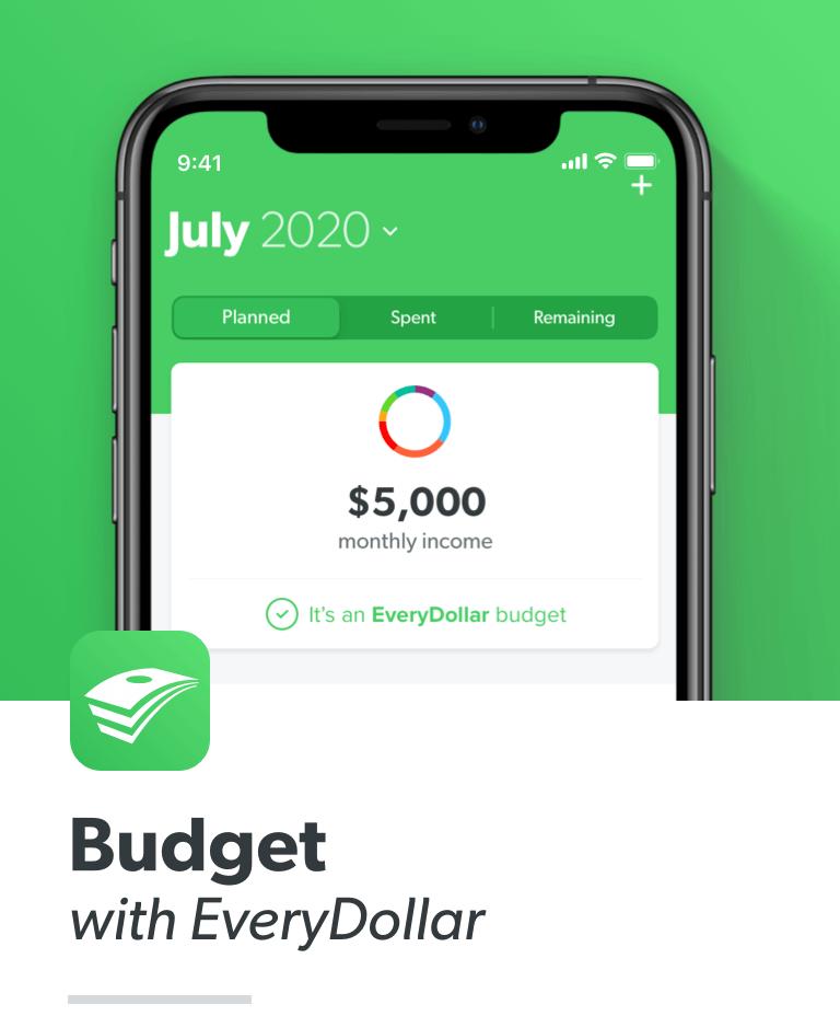 Budget with EveryDollar