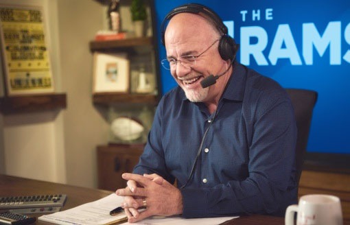 Dave Ramsey in the Studio